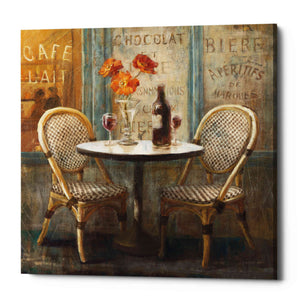 """Meet Me at Le Cafe I"" by Danhui Nai, Giclee Canvas Wall Art"