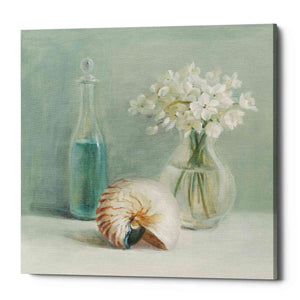 """White Flower Spa"" by Danhui Nai, Giclee Canvas Wall Art"