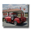 'Rest Stop at Cruiser's Cafe' by Lori Deiter, Giclee Canvas Wall Art