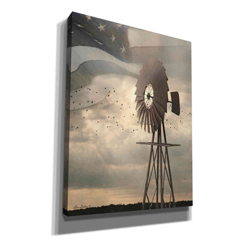 'Land That I Love Windmill I' by Lori Deiter, Canvas Wall Art,Size B Portrait