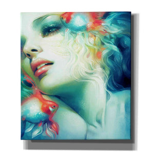 'Scale' by Anna Dittman, Canvas Wall Art,Size C Portrait
