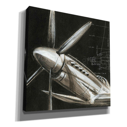 'Aerial Navigation II' by Ethan Harper, Canvas Wall Art,Size 1 Square