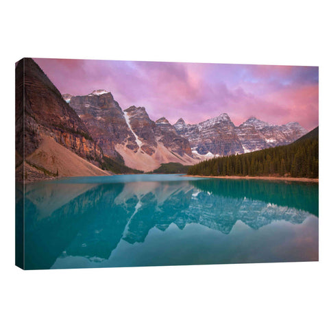 """Moraine Lake"" by Jesse Estes, Giclee Canvas Wall Art"