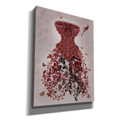 'Woodland Corset,' by Fab Funky, Giclee Canvas Wall Art