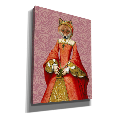 'Fox Queen' by Fab Funky, Giclee Canvas Wall Art