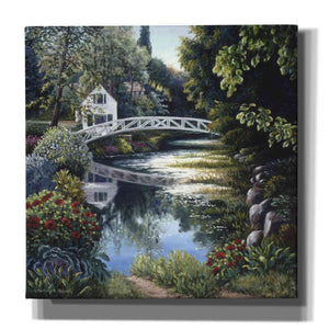 'Bridge Reflection' by Barbara Felisky, Giclee Canvas Wall Art