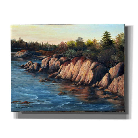 Image of 'Carmel Sunset' by Barbara Felisky, Giclee Canvas Wall Art