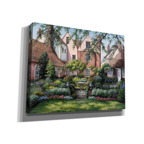 Image of 'Sun House Back Garden' by Barbara Felisky, Giclee Canvas Wall Art