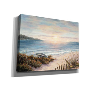 'Boat and the Sand' by Barbara Felisky, Giclee Canvas Wall Art