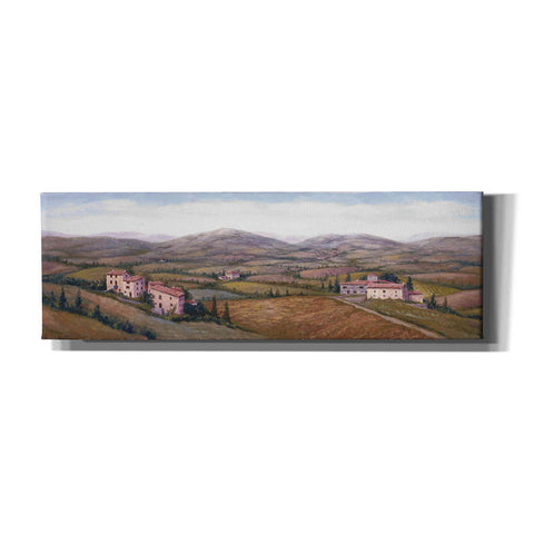Image of 'The Hills Near Certaldo' by Barbara Felisky, Canvas Wall Art,Size 3 Landscape