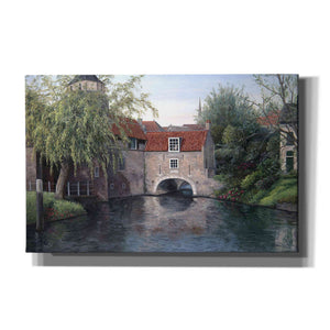 'House with Bridge' by Barbara Felisky, Giclee Canvas Wall Art