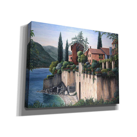 Image of 'Hotel Victoria at Varenna' by Barbara Felisky, Giclee Canvas Wall Art
