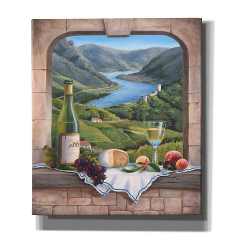 Image of 'Rhine Wine Moment' by Barbara Felisky, Giclee Canvas Wall Art