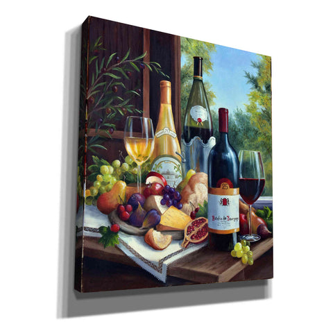 Image of 'Still Life with Wines' by Barbara Felisky, Giclee Canvas Wall Art