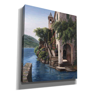 'Manor on the Water' by Barbara Felisky, Giclee Canvas Wall Art