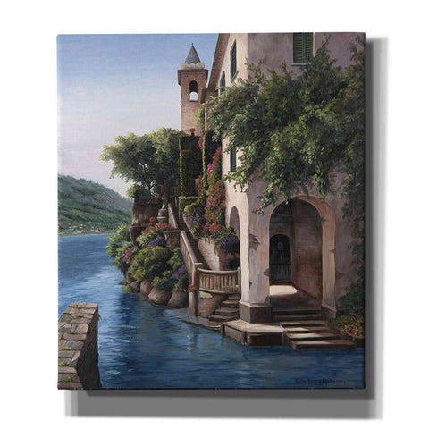 Image of 'Manor on the Water' by Barbara Felisky, Giclee Canvas Wall Art