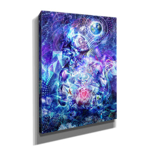 'Transcension Vertical' by Cameron Gray, Canvas Wall Art