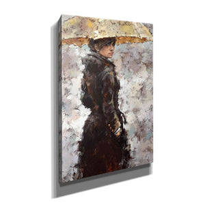'Glance' by Alexander Gunin, Canvas Wall Art,Size A Portrait