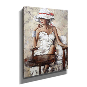 'On Holiday' by Alexander Gunin, Canvas Wall Art,Size C Portrait