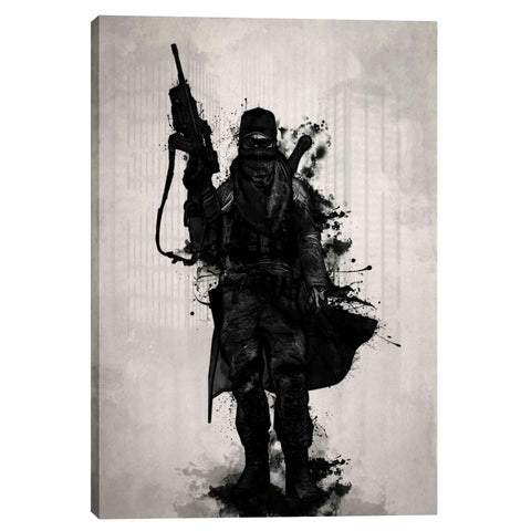 """Post Apocalyptic Warrior"" by Nicklas Gustafsson, Giclee Canvas Wall Art"