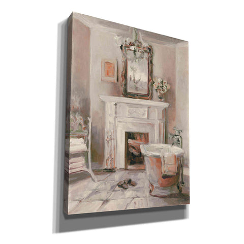 'French Bath IV Gray and Blush' by Marilyn Hageman, Giclee Canvas Wall Art