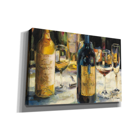'Bordeaux and Muscat' by Marilyn Hageman, Giclee Canvas Wall Art