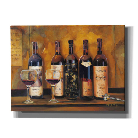 'Cellar Reds Landscape' by Marilyn Hageman, Giclee Canvas Wall Art