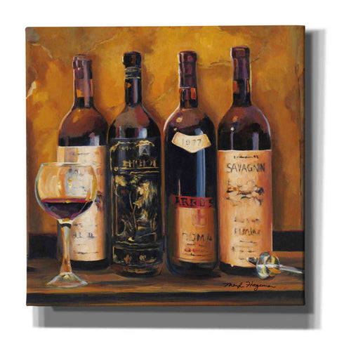 'Cellar Reds' by Marilyn Hageman, Giclee Canvas Wall Art