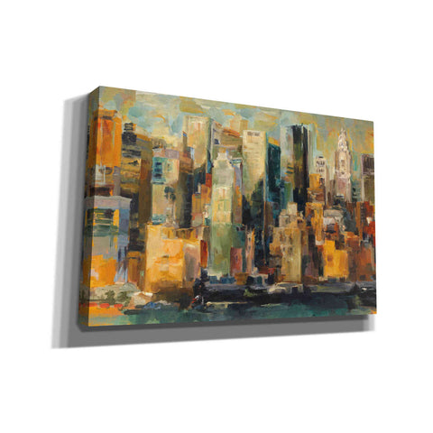 'New York New York' by Marilyn Hageman, Giclee Canvas Wall Art