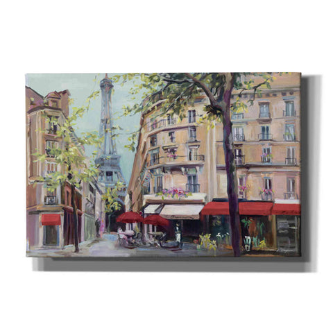 'Springtime in Paris' by Marilyn Hageman, Giclee Canvas Wall Art
