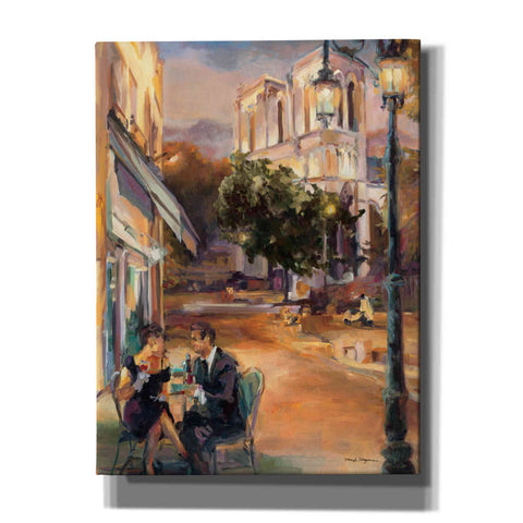 Image of 'Twilight Time in Paris' by Marilyn Hageman, Canvas Wall Art