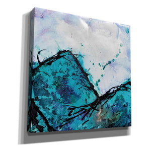 'In Mountains or Valleys 2' by Britt Hallowell, Canvas Wall Art,Size 1 Square
