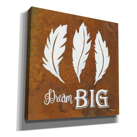 'Dream Big' by Britt Hallowell, Canvas Wall Art,Size 1 Square