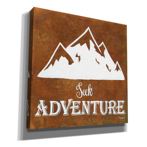 Image of 'Seek Adventure' by Britt Hallowell, Canvas Wall Art,Size 1 Square