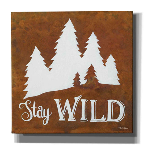 Image of 'Stay Wild' by Britt Hallowell, Canvas Wall Art,Size 1 Square