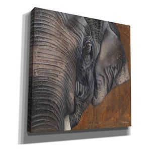 'The Gentlest Giant' by Britt Hallowell, Giclee Canvas Wall Art
