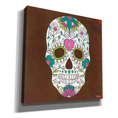 Image of 'Celebrating Life II' by Britt Hallowell, Canvas Wall Art,Size 1 Square