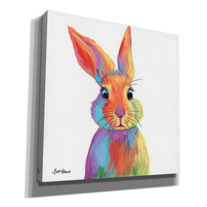 'Cheery Bunny' by Britt Hallowell, Giclee Canvas Wall Art