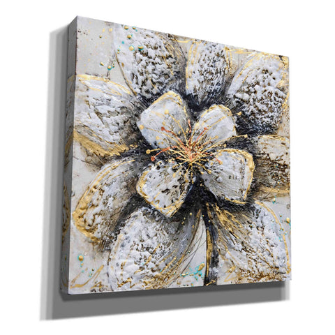 Image of 'Explosion of Petals' by Britt Hallowell, Canvas Wall Art,Size 1 Square