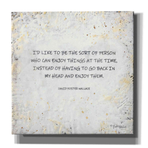 Image of 'I'd Like to Be' by Britt Hallowell, Canvas Wall Art,Size 1 Square