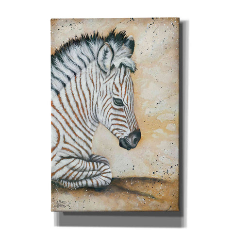 Image of 'Savannah Baby' by Britt Hallowell, Canvas Wall Art,Size A Portrait