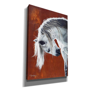 'The Untamable Heart' by Britt Hallowell, Canvas Wall Art,Size A Portrait