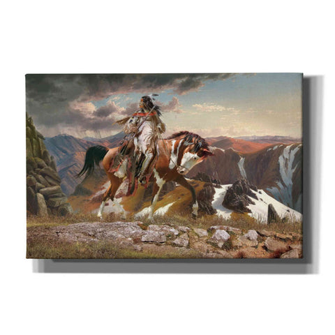 Image of 'On The Lookout' by Steve Hunziker, Giclee Canvas Wall Art