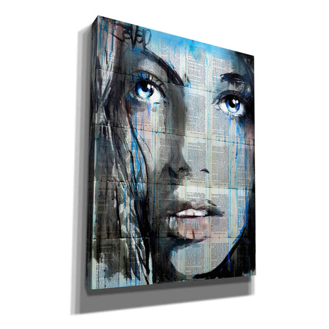 'Blue Sway' by Loui Jover, Giclee Canvas Wall Art