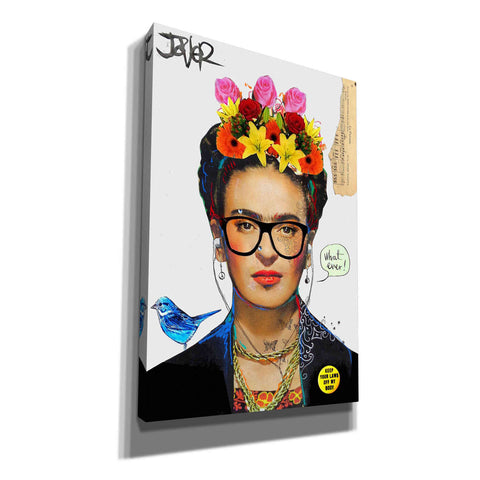 'Hipsta Frida' by Loui Jover, Giclee Canvas Wall Art