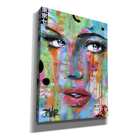 Image of 'Real Life' by Loui Jover, Canvas Wall Art,Size B Portrait