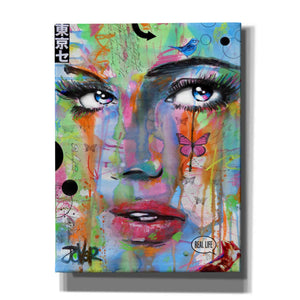 'Real Life' by Loui Jover, Canvas Wall Art,Size B Portrait