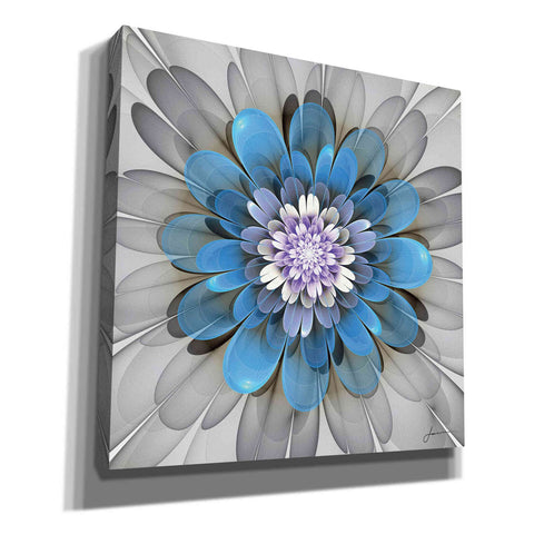 'Fractal Blooms III' by James Burghardt Giclee Canvas Wall Art