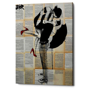 'Always Again' by Loui Jover, Canvas Wall Art