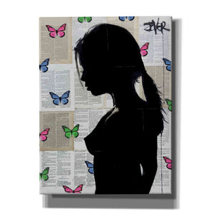 """Butterfly Tide"" by Loui Jover, Giclee Canvas Wall Art"